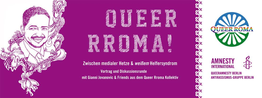 Queer Roma - Vortrag in Podiumsdiskussion
