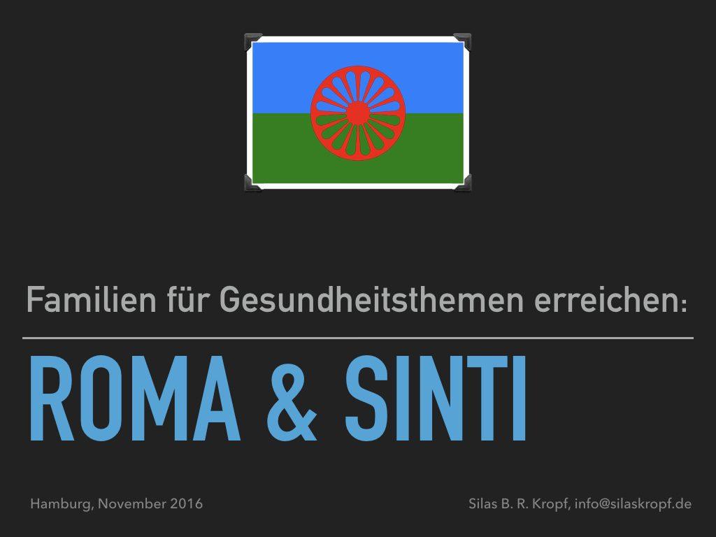 Familien für Gesundheitsthemen erreichen: Roma & Sinti